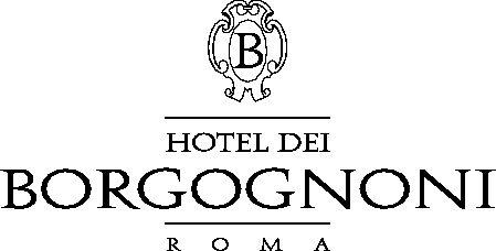 logo hotel dei borgognoni roma